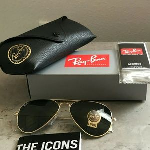 CLASSIC RAY-BAN AVIATOR 100% AUTHENTIC